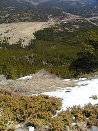 View from summit