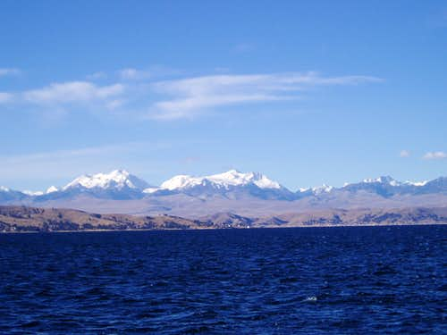 Chachacomani and Chearoko from Lago Titicaca