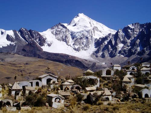Huayna Potosi from Milluni