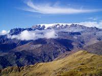 Mururata (5800 m) - from Mina Reconquistada