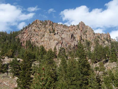 North Ridge from Eldorado Canyon Trailhead