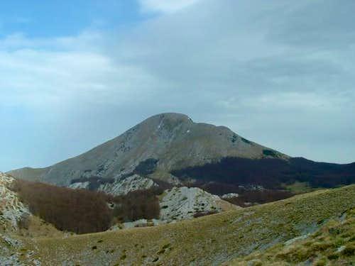 Sveto Brdo from pass near...