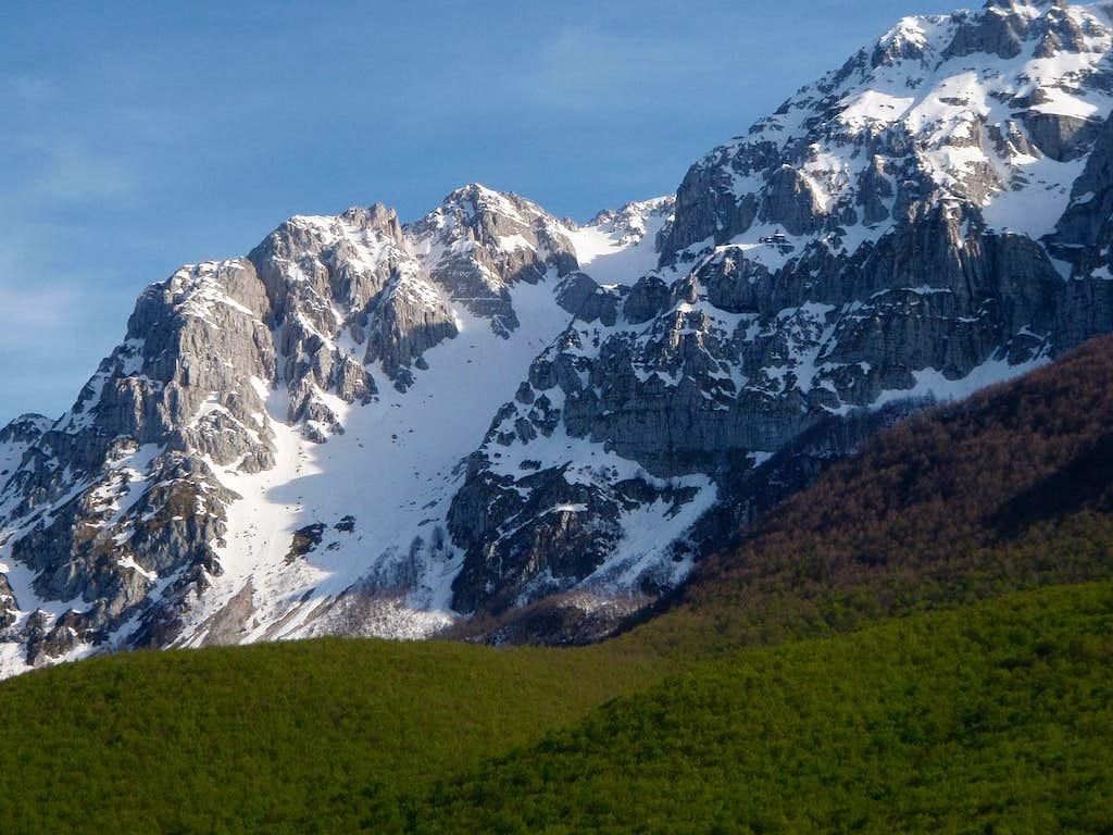 Sperone di Mezzo and Majori gully