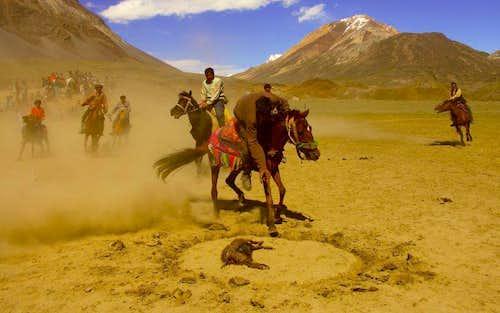 Buz Kashi in northern Chitral