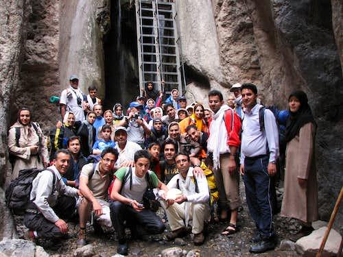 !!! ... آبشاری از آبشارهای قره سو و اندکی آب برای دلخوشی