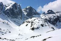 Peaks above Velka Studena valley
