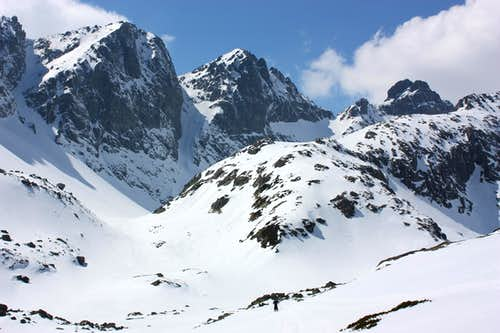 Peaks above Velka Studena valley