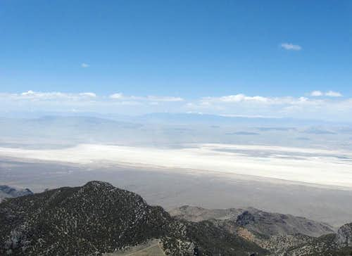 Nevada to the west