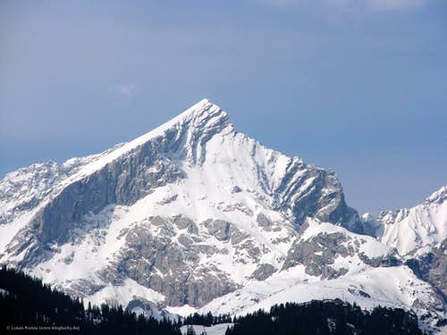 North face of Alpspitze