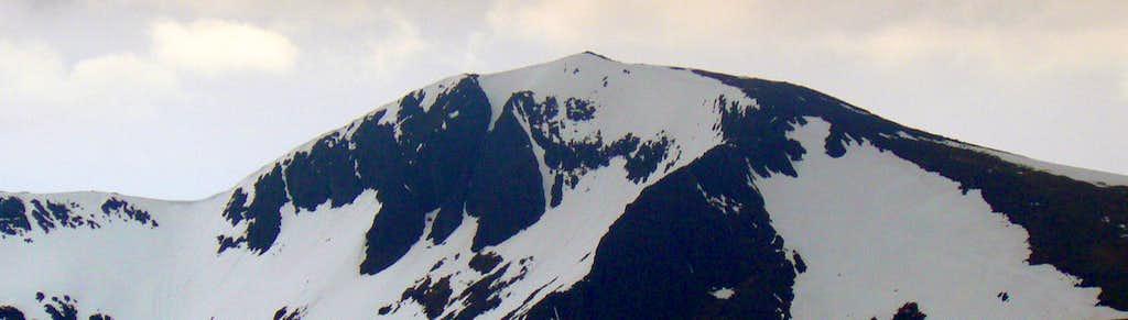 North-east face of Stob Ghabhar