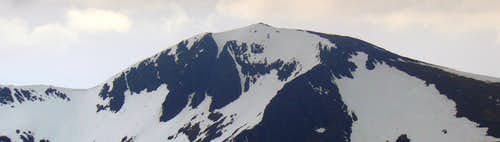 North-east face of Stob Ghabhar