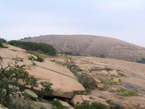 View of Enchanted Rock from...