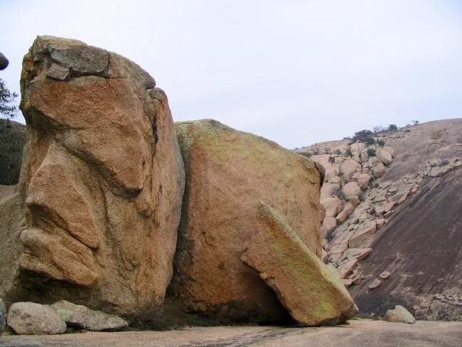Boulders abound at Enchanted...