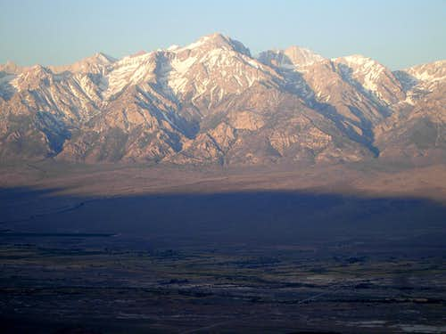 Mt. Williamson from Inyo Crest