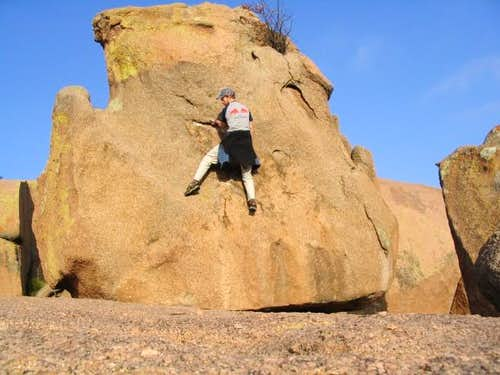 Rock hopping abounds around...