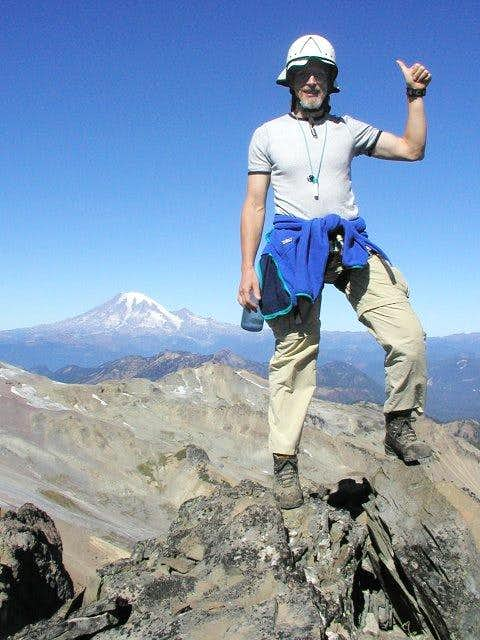 Duane on the summit with...