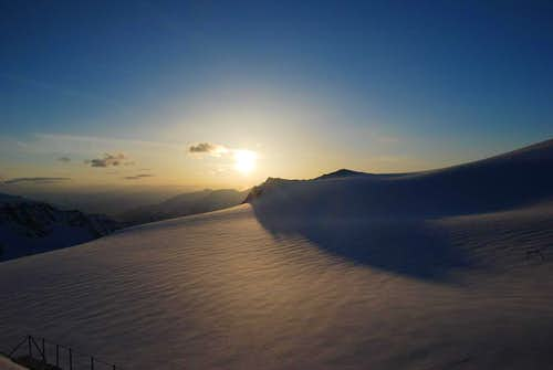 Sunrise over Ortler Alps