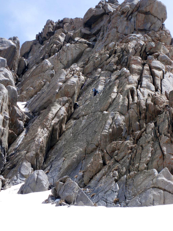 rock- Alvand Mountain