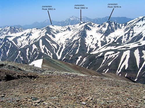 Jahneston Peaks