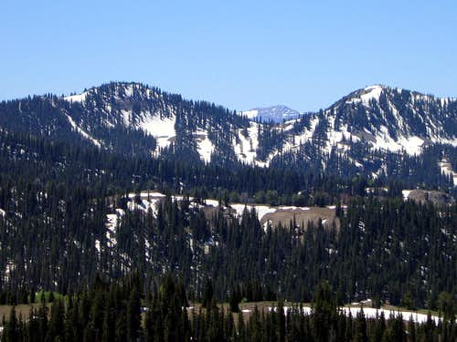 Preston Peak and Pioneer Ridge
