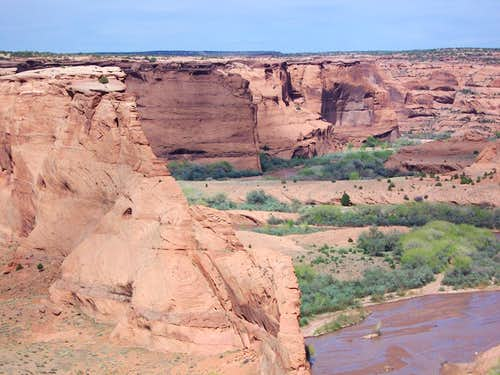 From the Tsegi Overlook, Canyon de Chelly