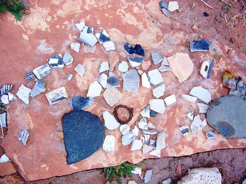 Potsherds and More, Canyon de Chelly