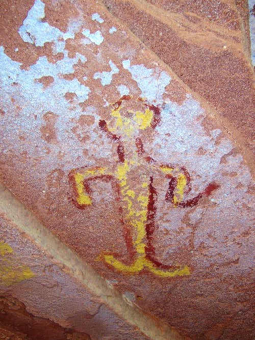 Pictograph in Canyon de Chelly