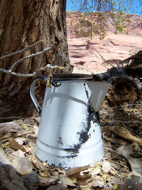 Old Pitcher, Canyon de Chelly