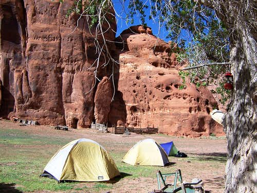 Canyon de Chelly Campsite