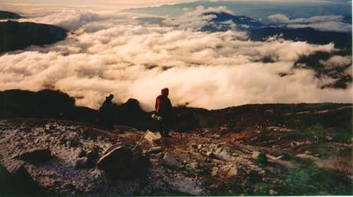 View from Las Latas, Nevado...