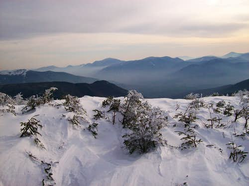White Mountains in Winter