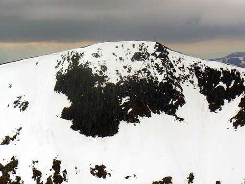 Clach Leathad's North East face