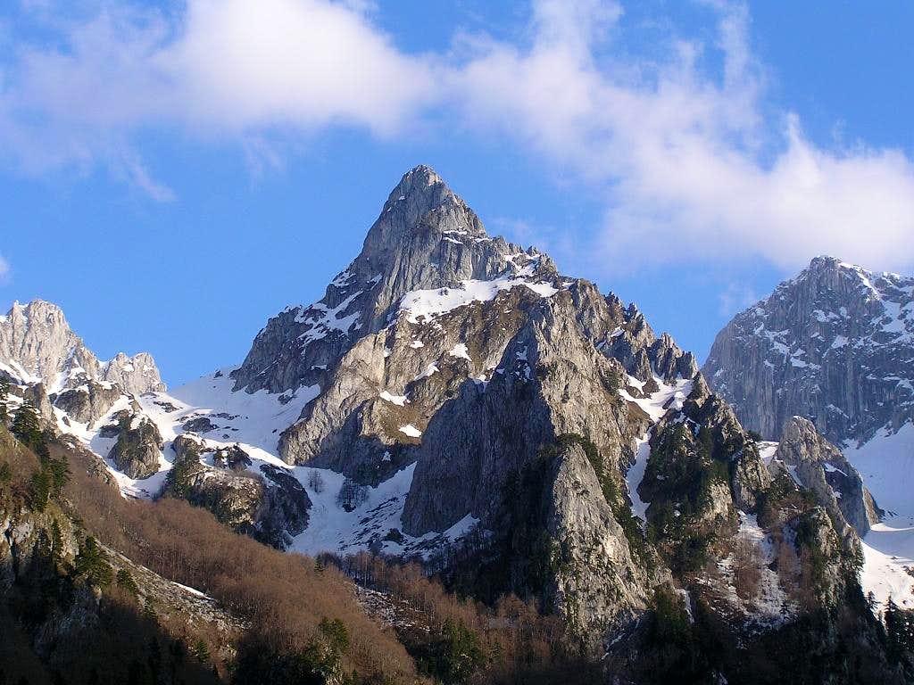 Očnjak peak , Prokletije maj 2008