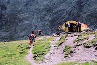 Caltun hut