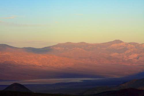 Alpenglow-Panamint Range