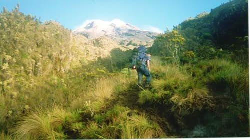Nevado Tolima from just above...