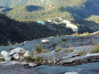 Laban Rata from above