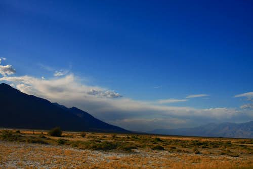 Owens Valley and Inyo Mountains
