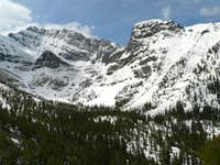 Borah's North Face from Rock Creek Canyon