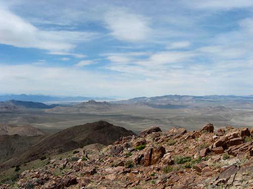 The Keg Mtn range