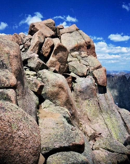 Sunlight Peak's summit