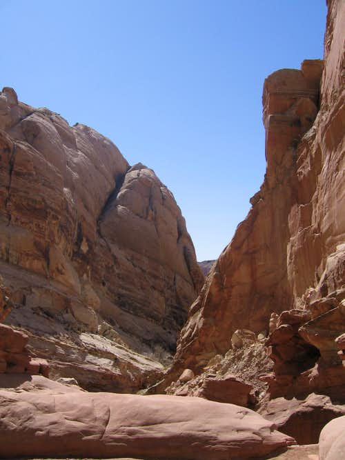 scene in Ding Canyon