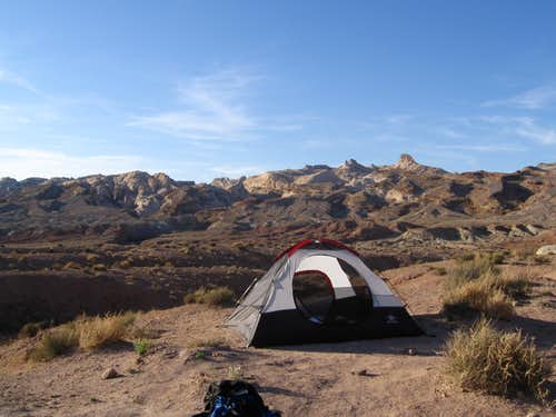 camping near the southern reef