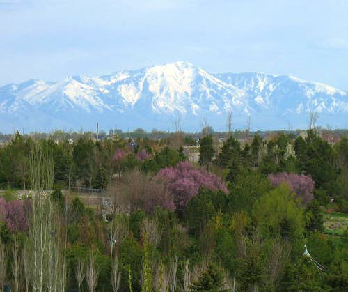 Oquirrh Mountains from Thanksgiving Point