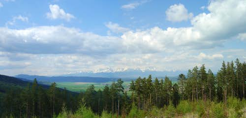 View of the High Tatra