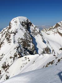 East Ridge of Sunrise as seen from the summit of Dromedary