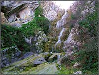 Paganja/Argila waterfall