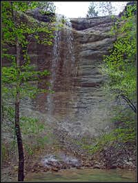 The waterfall on Stranica creek