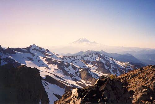 Mt. Rainier as seen from the...