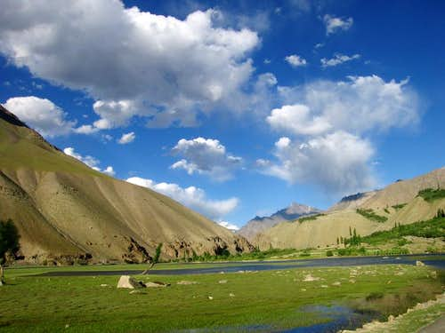 Beautiful Landscape of North Pakistan